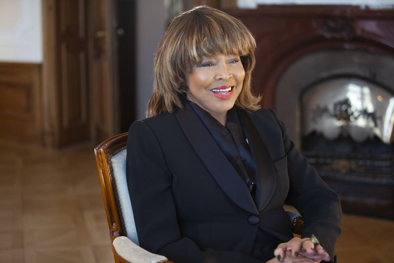 """This image released by HBO shows Tina Turner in a scene from the documentary """"Tina."""" """"I was living a life of death,"""" Turner says in the film, when describing her marriage to Ike Turner."""