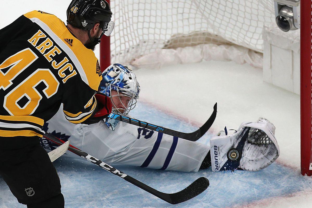 2019 Stanley Cup Playoffs: Toronto Maple Leafs Vs Boston Bruins At TD Garden