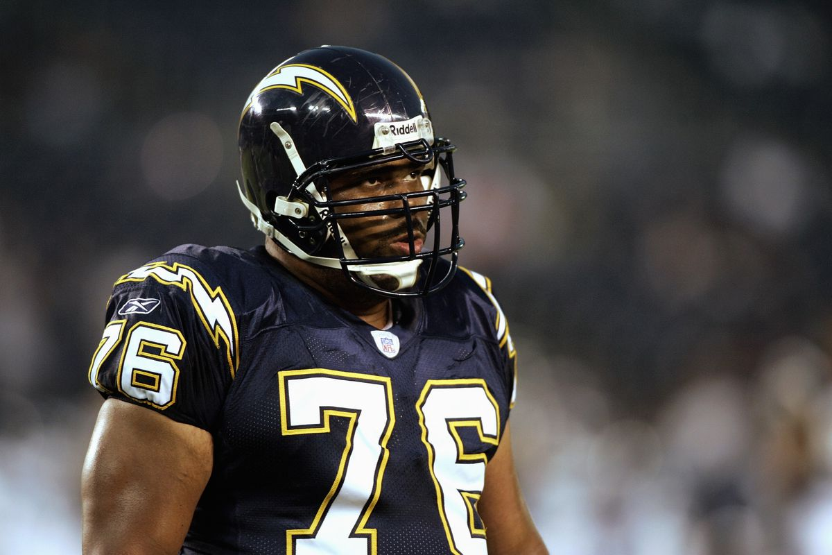 San Diego Chargers defensive tackle Jamal Williams