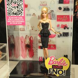 Barbie Loves FNO Alexis Bittar.