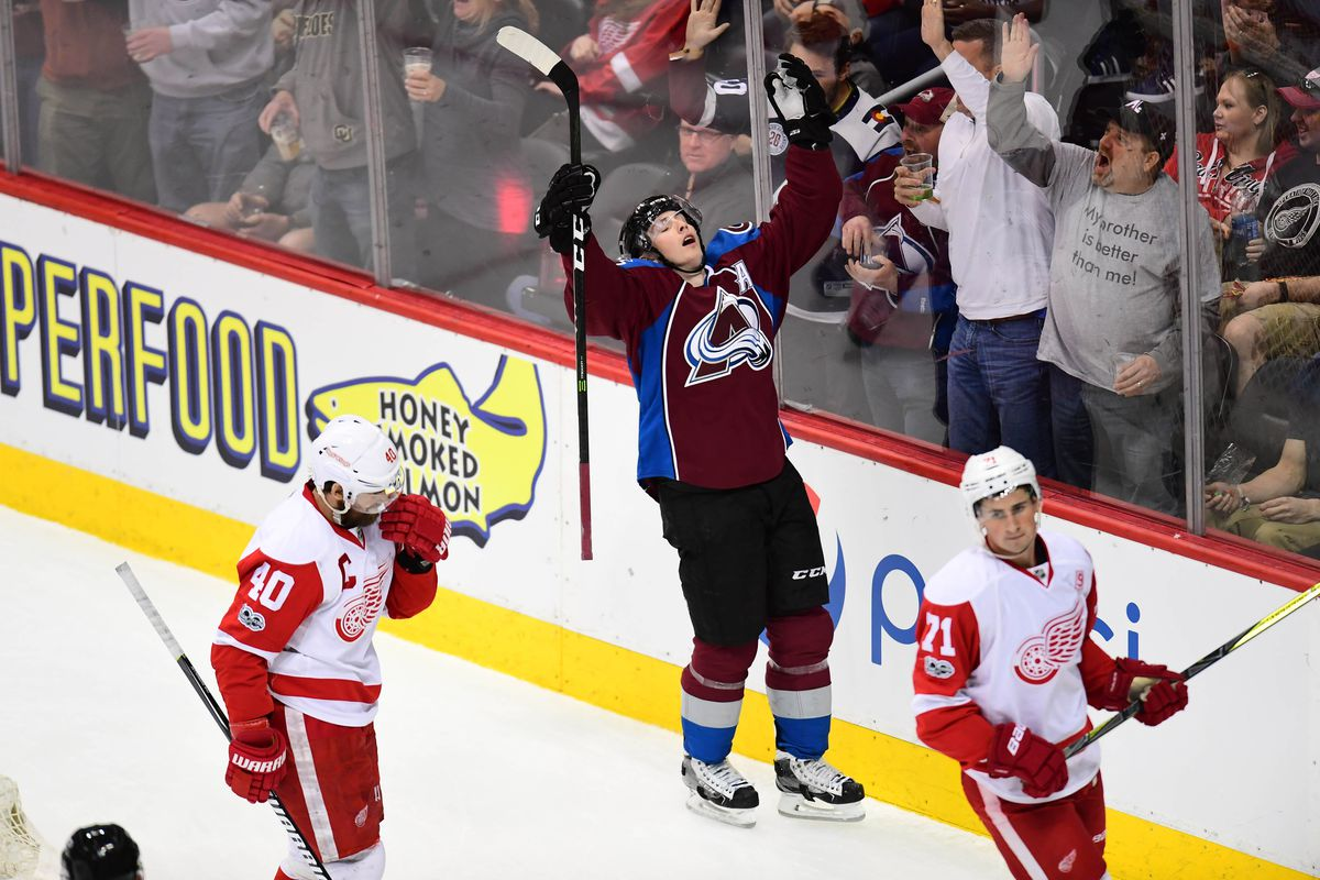 NHL: Detroit Red Wings at Colorado Avalanche