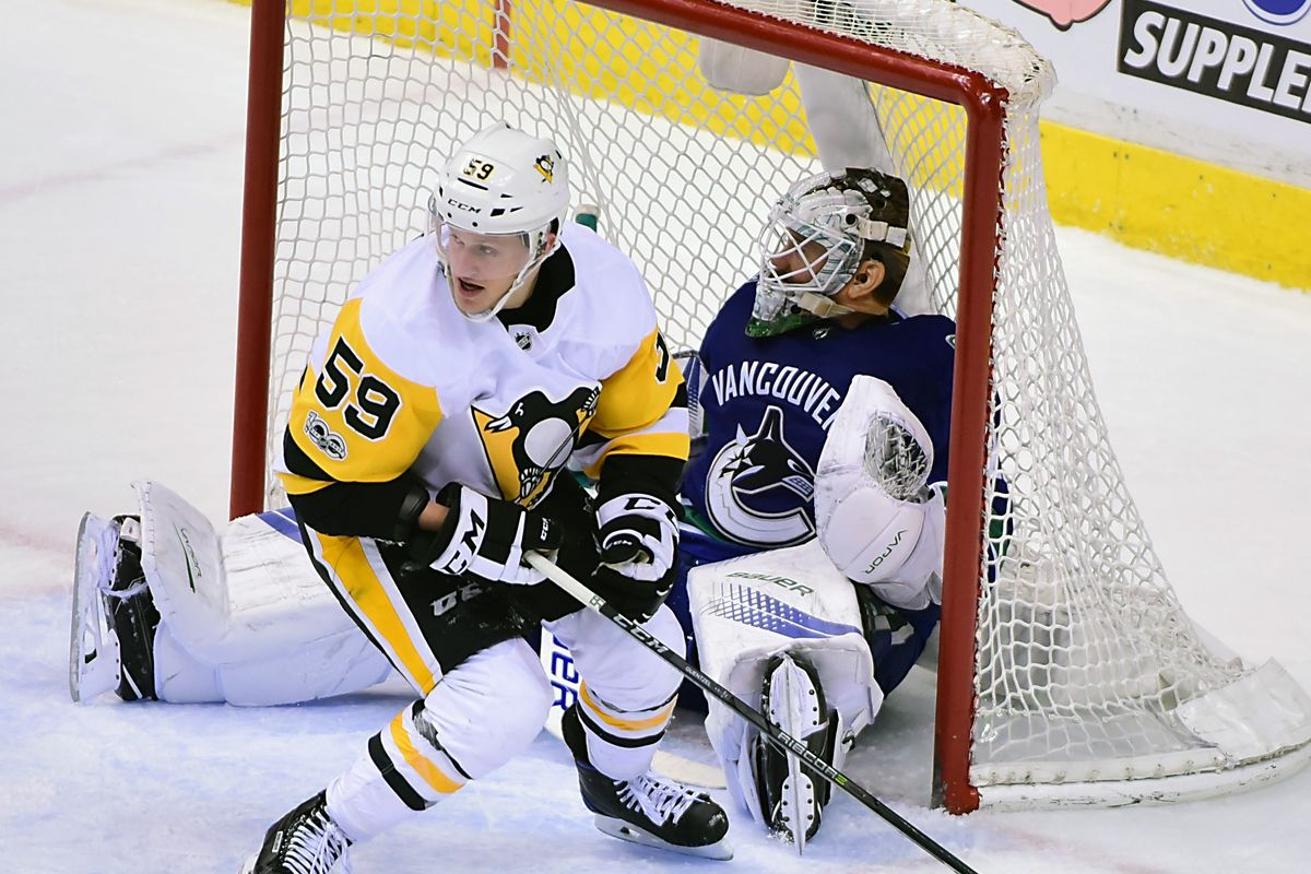 NHL: Pittsburgh Penguins at Vancouver Canucks