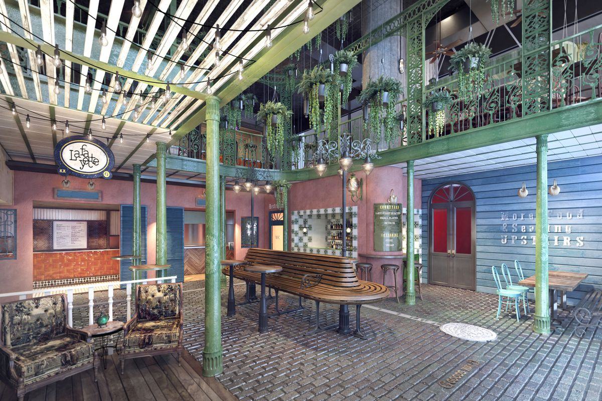 The Courtyard, King's Cross, a new food and music venue