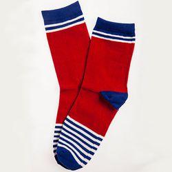 "<b>Radii</b> Sock at <b>Karmaloop</b>, <a href=""http://www.karmaloop.com/product/SOCK-MNKYREDROYAL/421866"">$8</a>"