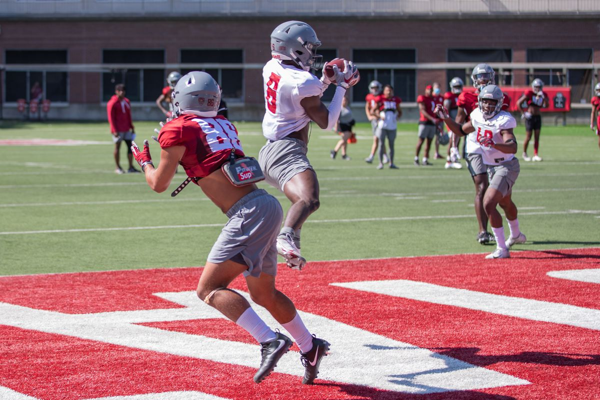 Washington State University Football Fall Practice 9 - Chau Smith-Wade (6)