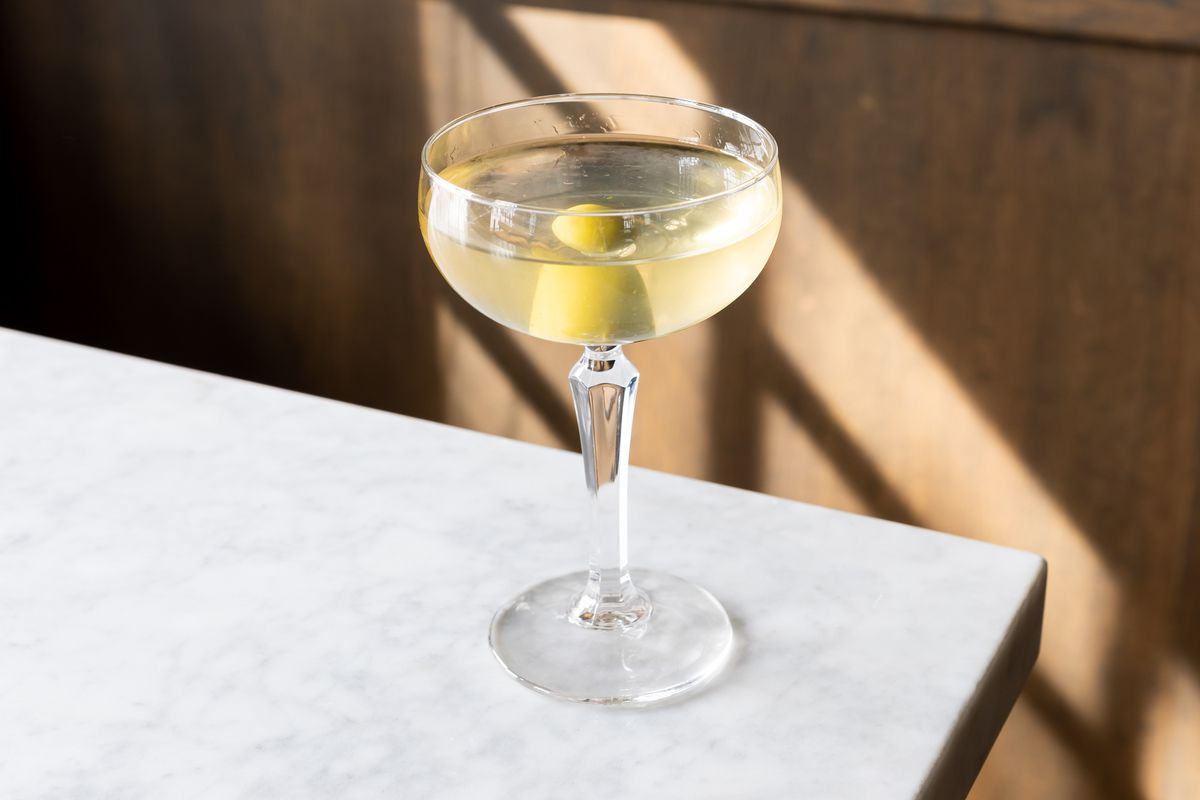 House martini from Mr. Digby's
