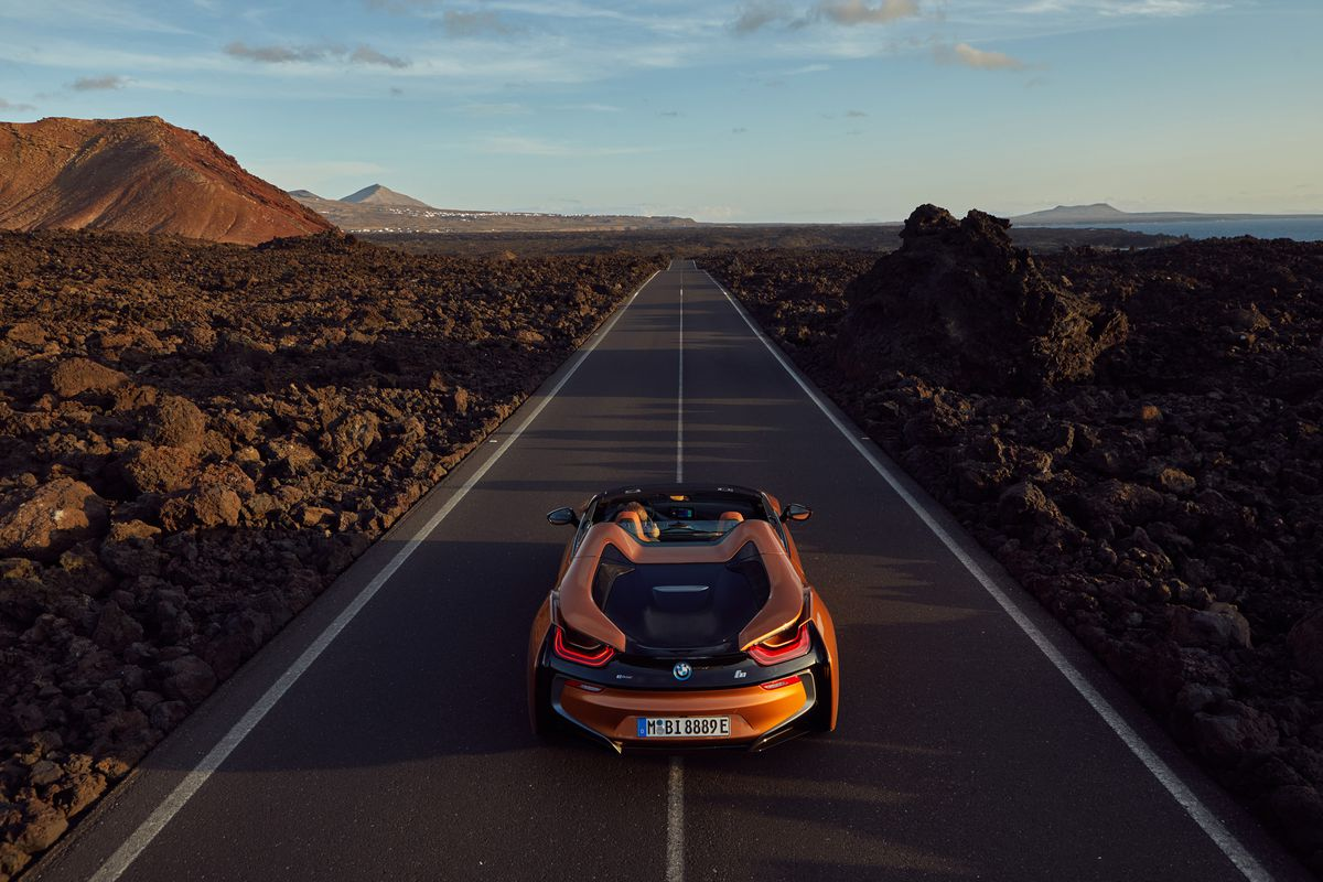 BMW i8 SHOOTING LANZAROTE