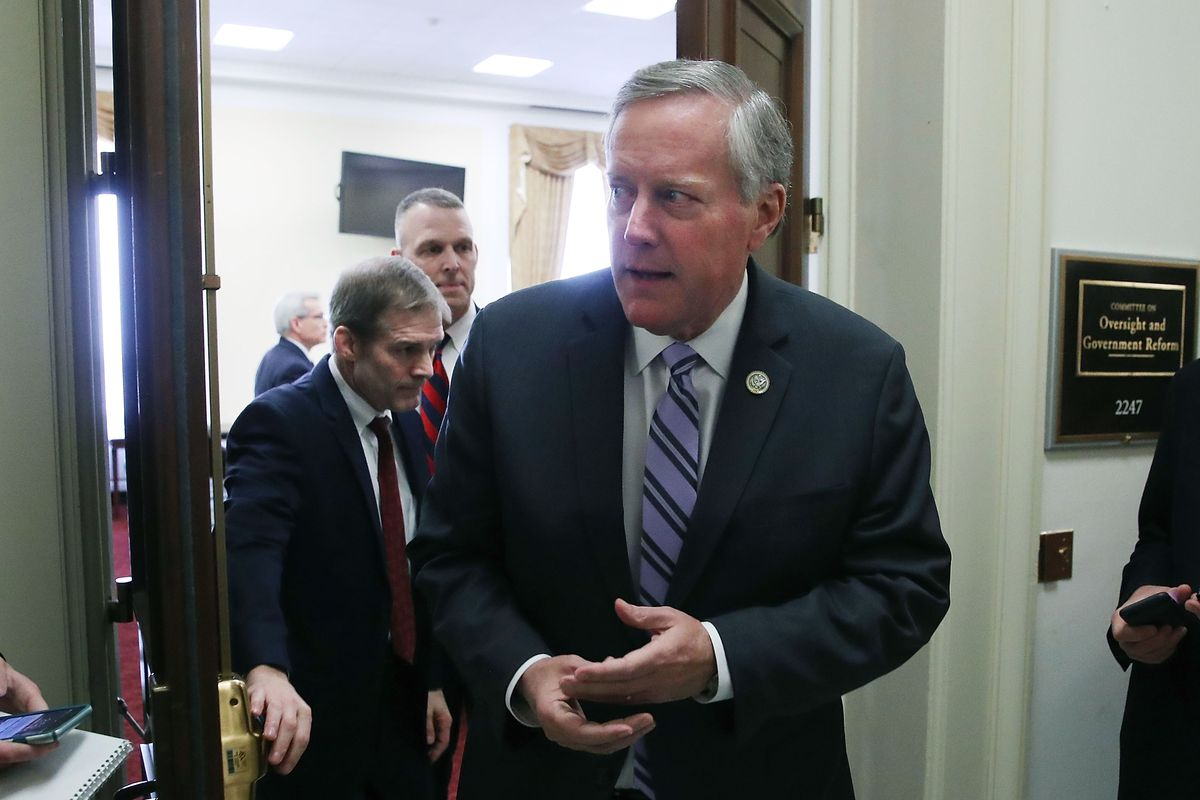 Members Of House Freedom Caucus Brief Media On American Health Care Act Vote