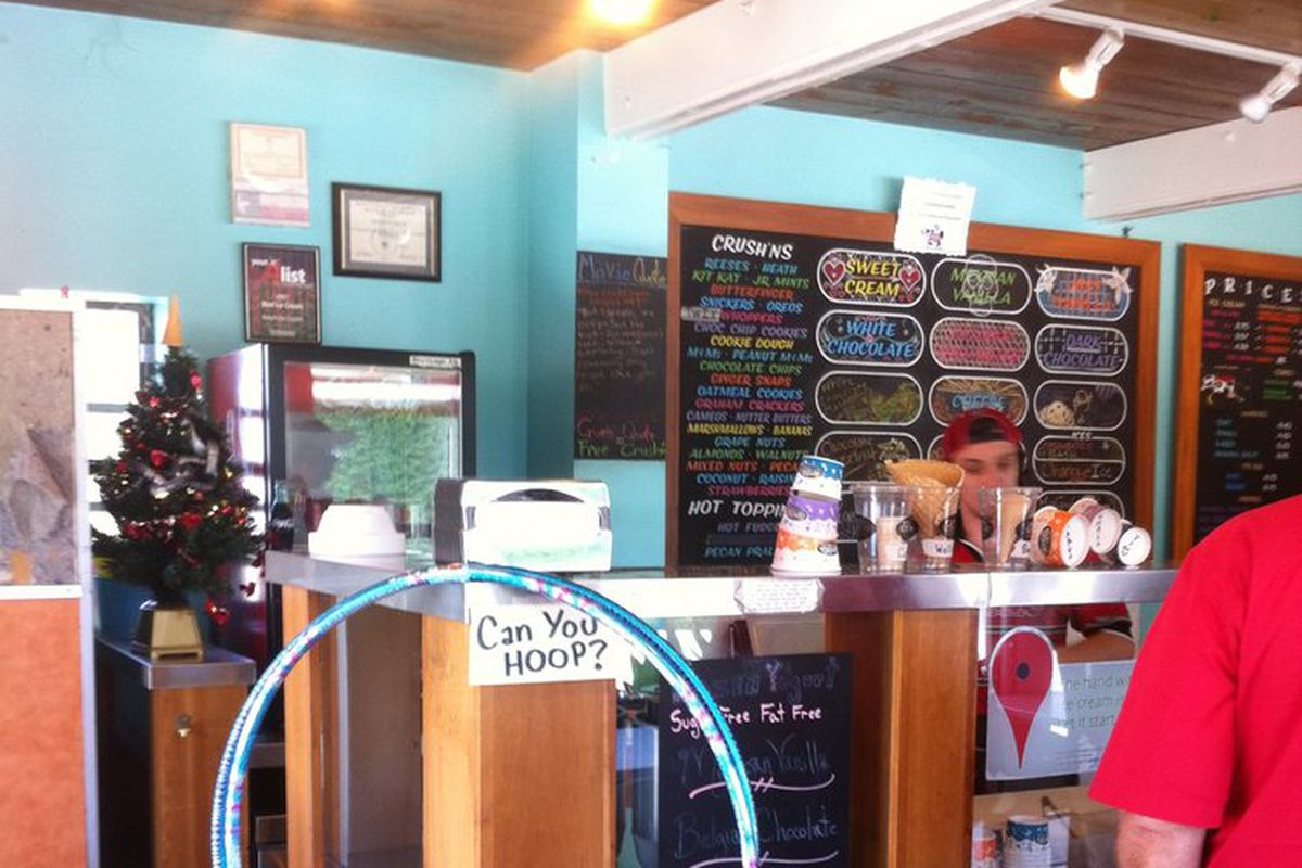 Amy's Ice Cream on far South Congress