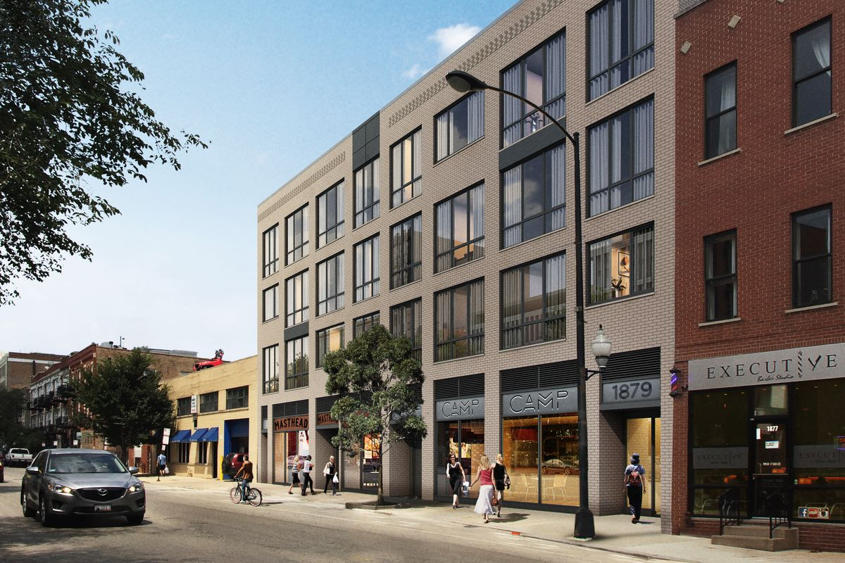 More apartments headed to milwaukee avenue in chicago s - 2 bedroom apartments in bucktown ...