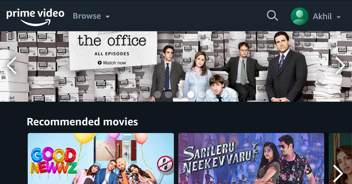 Amazon Prime Video now supports up to six profiles on the same account