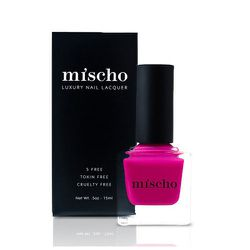 """Mischo Beauty """"Marilyn"""" Nail Lacquer, <a href=""""http://www.mischobeauty.com/collections/the-icons-collection/products/marilyn"""">$18</a>"""