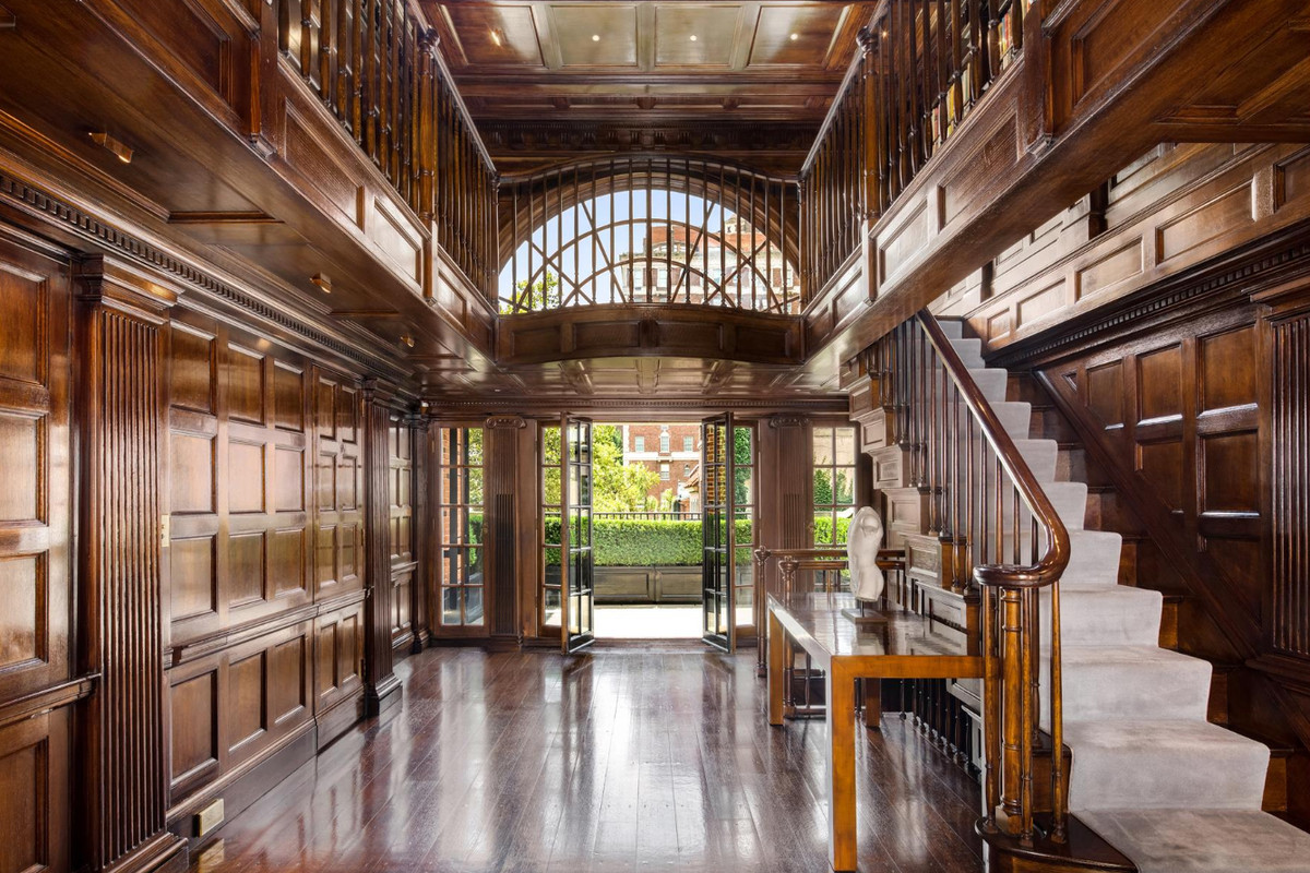 Palatial midtown townhouse in tony sutton square wants for Nyc townhouse for sale
