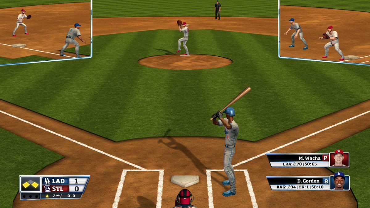 全新的球赛:看看MLB在RBI棒球18的内部发展