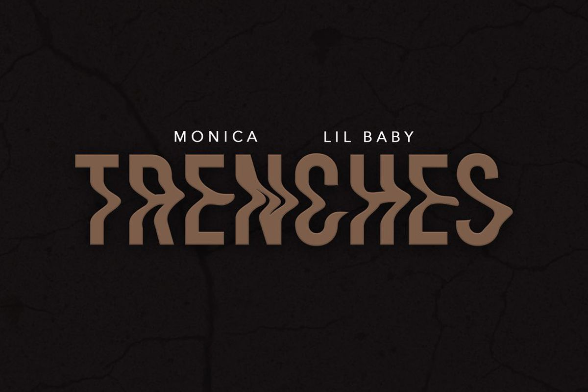 """Artwork for Monica's """"TRENCHES"""""""