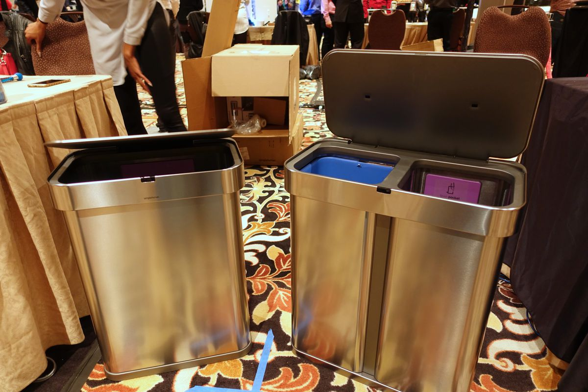 . Simplehuman s new trash cans have voice commands and Wi Fi   The Verge