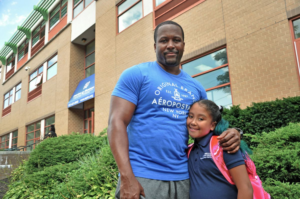 Carl McDonald has been sending his daughter, Brianna Lugo, to Marion P. Thomas Charter School for the past four years.