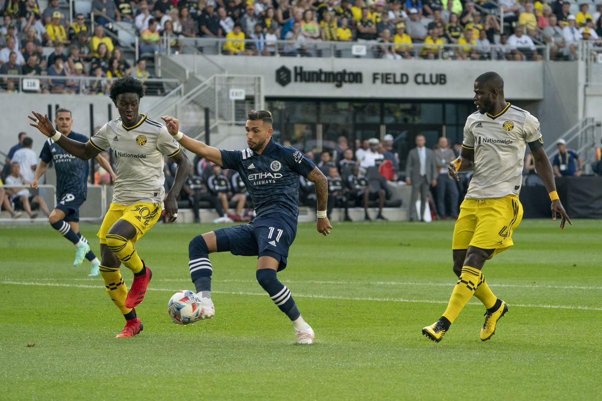 SOCCER: JUL 17 MLS - New York City FC at Columbus Crew