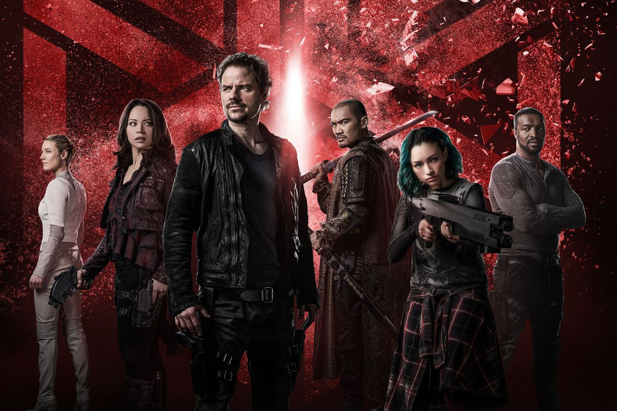 Syfy's pulpy space opera Dark Matter is back — here's why