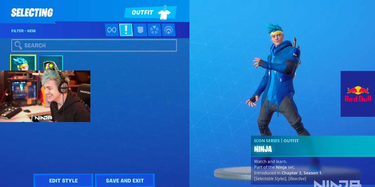 Ninja Is Getting A Fortnite Skin The Verge Fortnite corrupted legends pack leaked: ninja is getting a fortnite skin the