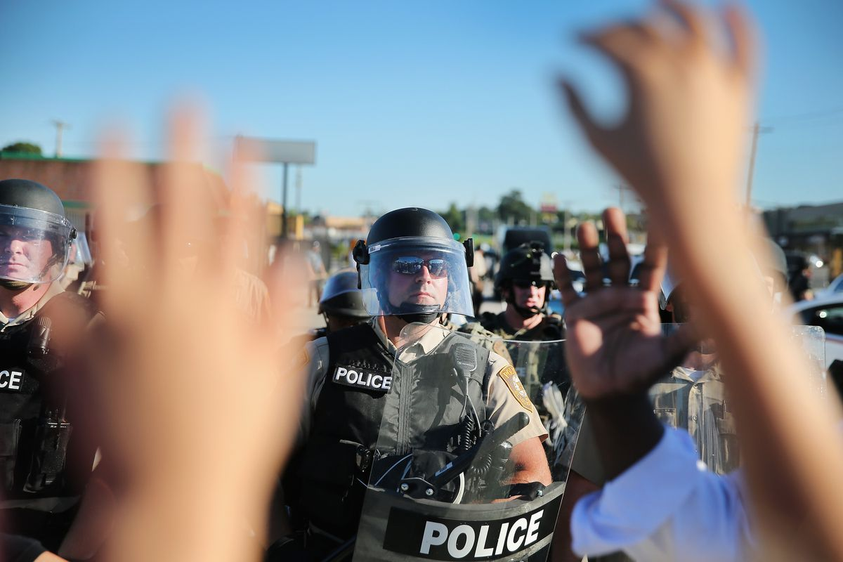 Ferguson PD shields