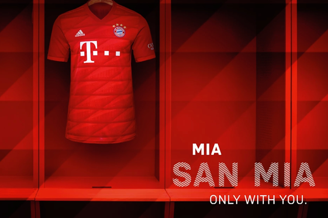 Bayern Munich officially unveil new home kit for 2019/2020 season