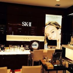 The SK-II counter at Bloomingdale's.