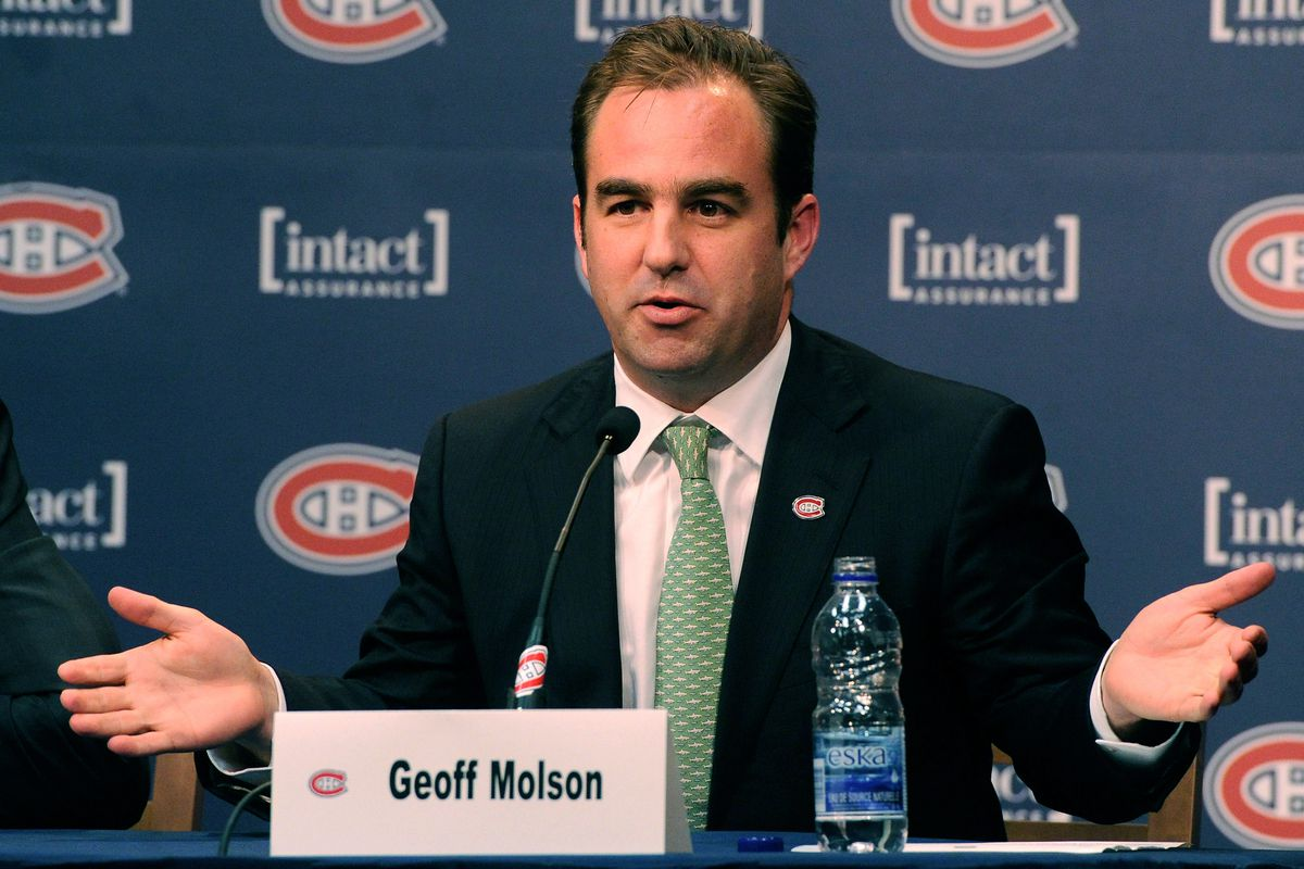 Montreal Canadiens Introduce Marc Bergevin As General Manager