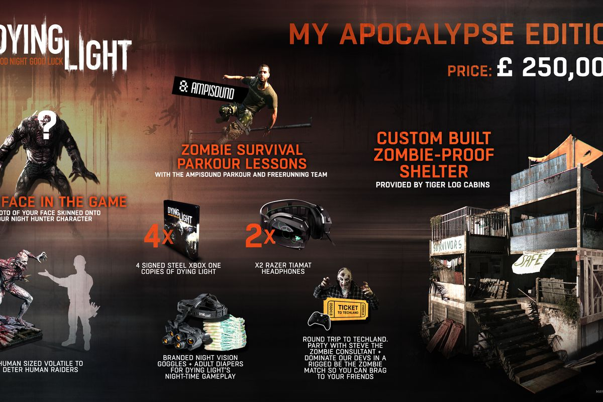 Dying Light Special Edition Costs 387000
