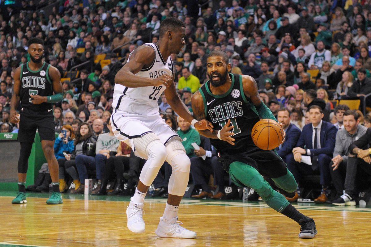 cheap for discount 74c25 c3e8e Nets black out as the Celtics win 108-105 - CelticsBlog