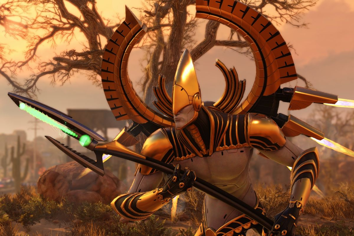 XCOM 2 soldier with a spear