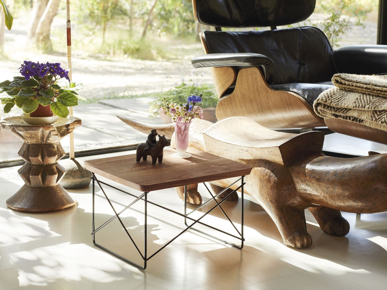Own a piece of the Eames House with these limited edition tables