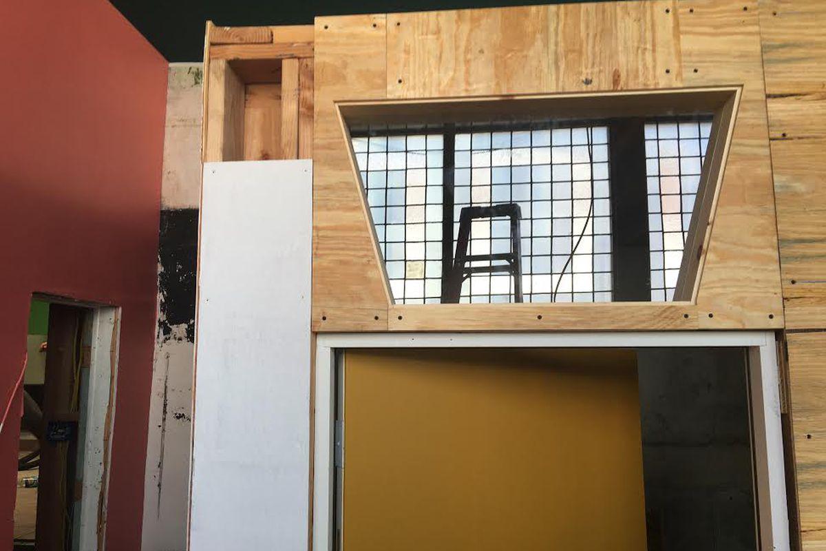 Interior build-out at 2841-43 Girard Avenue