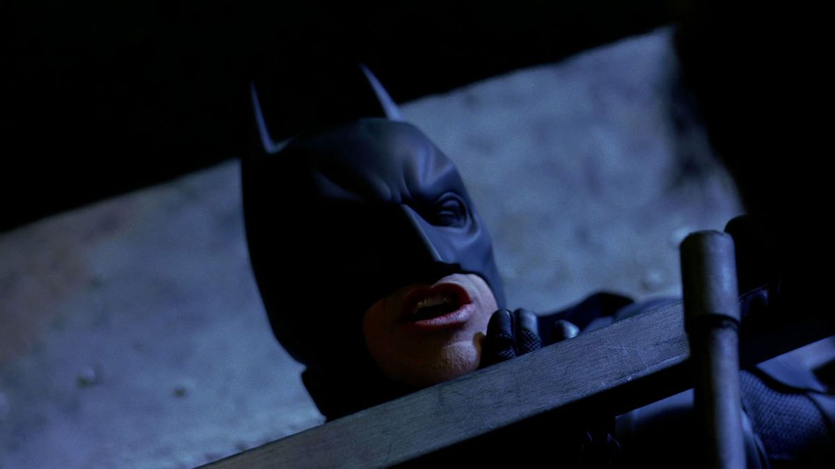 Christian Bale's infamous Dark Knight voice was the only