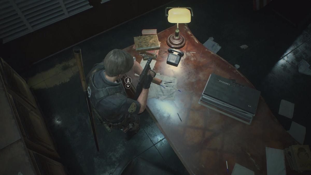 STARS Office Hiding Places item location Resident Evil 2