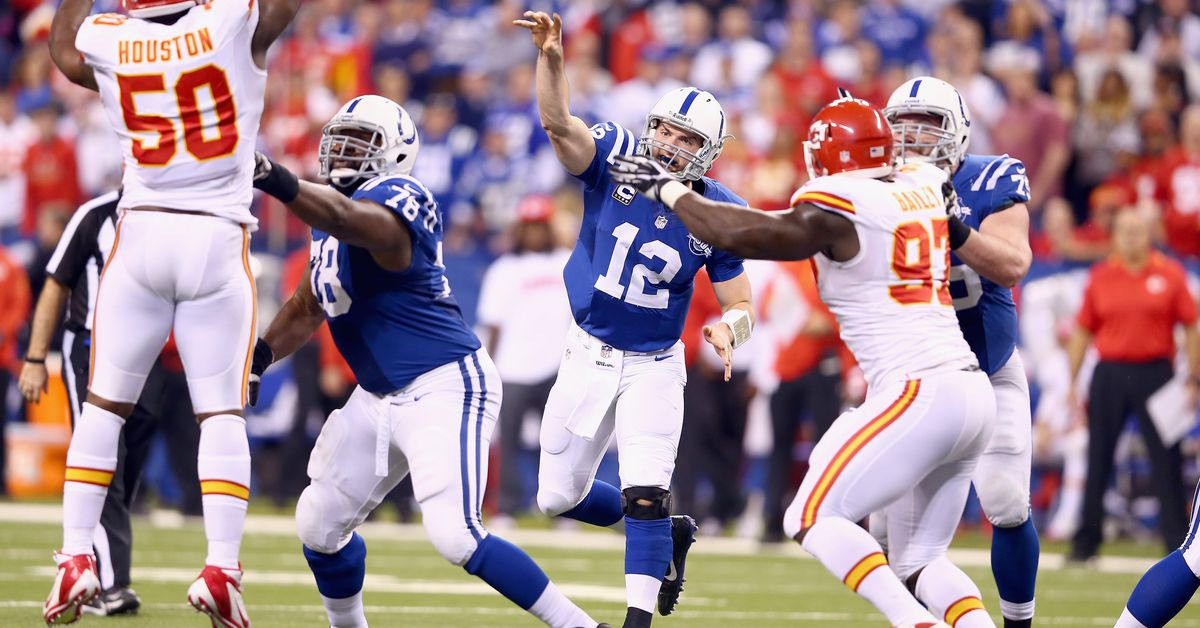 Colts Vs Chiefs Open Thread Stampede Blue
