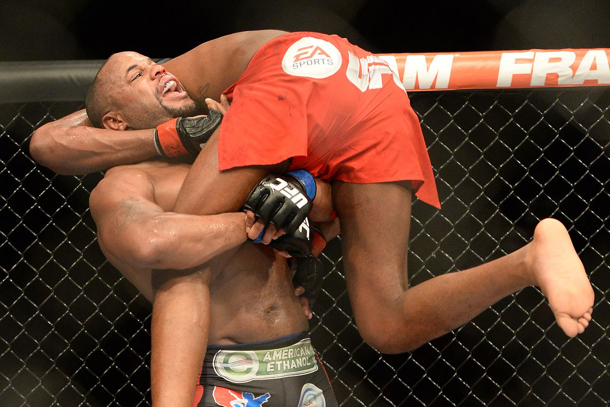 Daniel Cormier will fight in the UFC 187 main event next Saturday night.