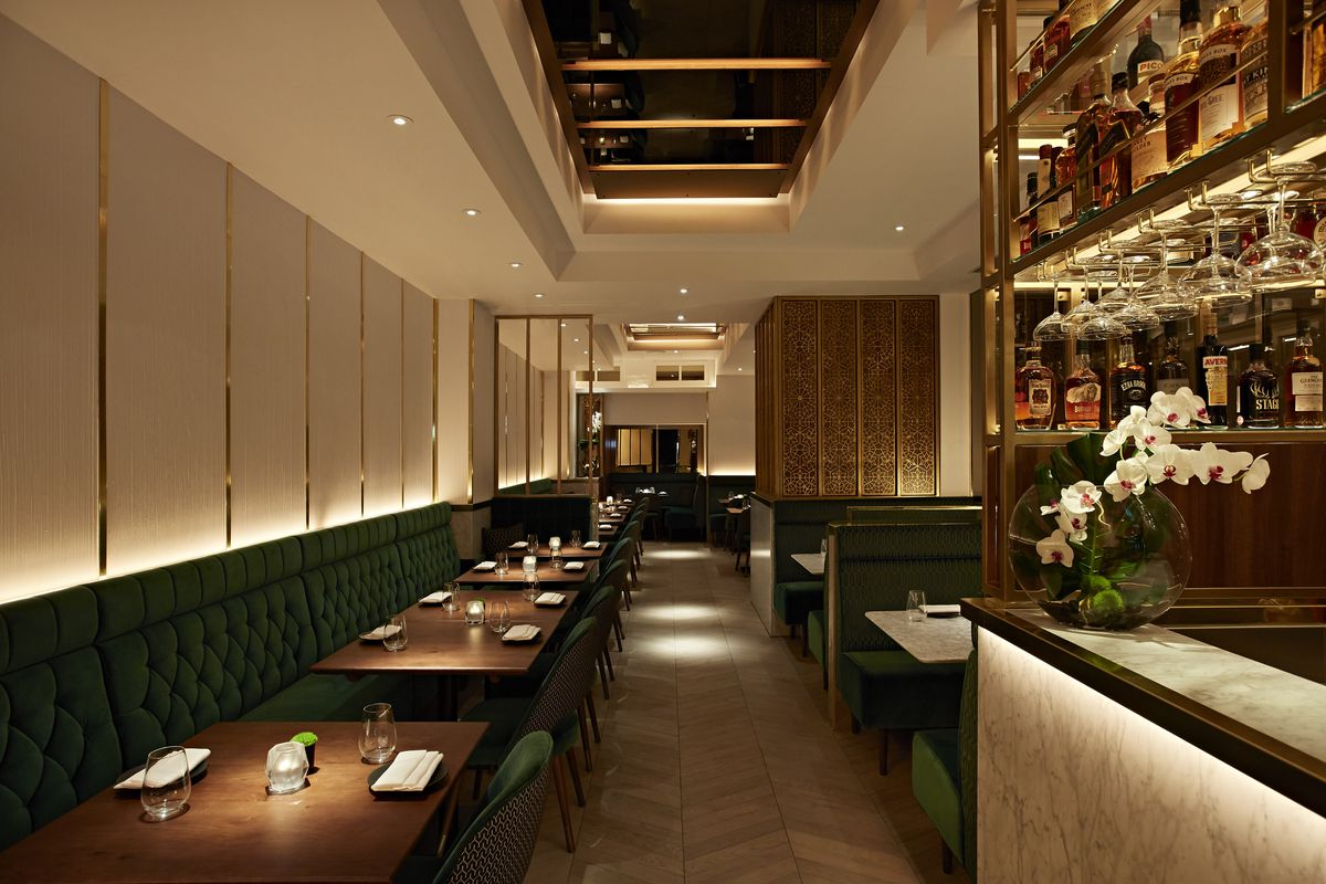Indian Accent Opens On Mayfair S Albermarle Street This Thursday 14 December The New Two Story Venue Is Set To Follow In Footsteps Of It