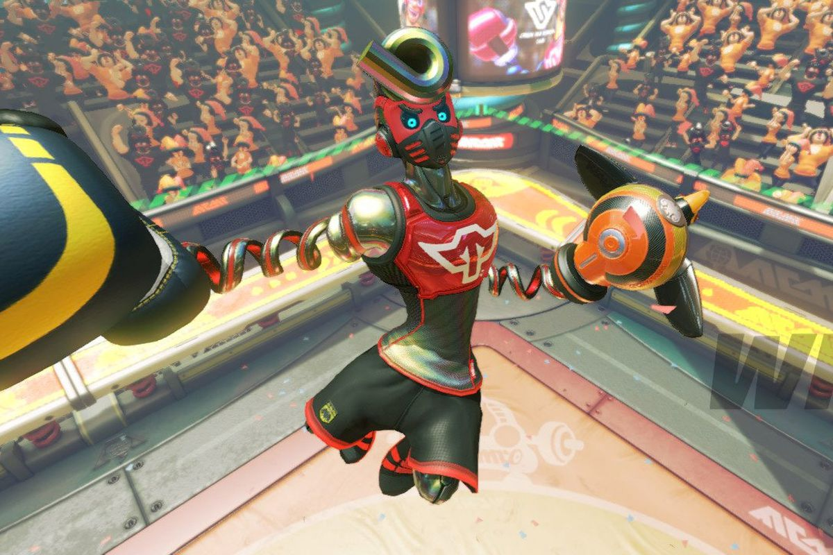 Arms just got another new playable character