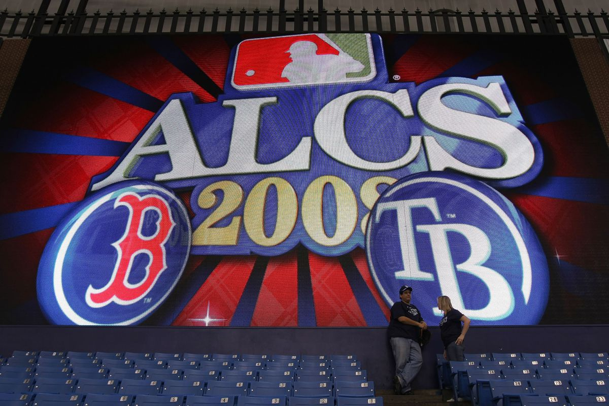 Boston Red Sox v Tampa Bay Rays, Game 1