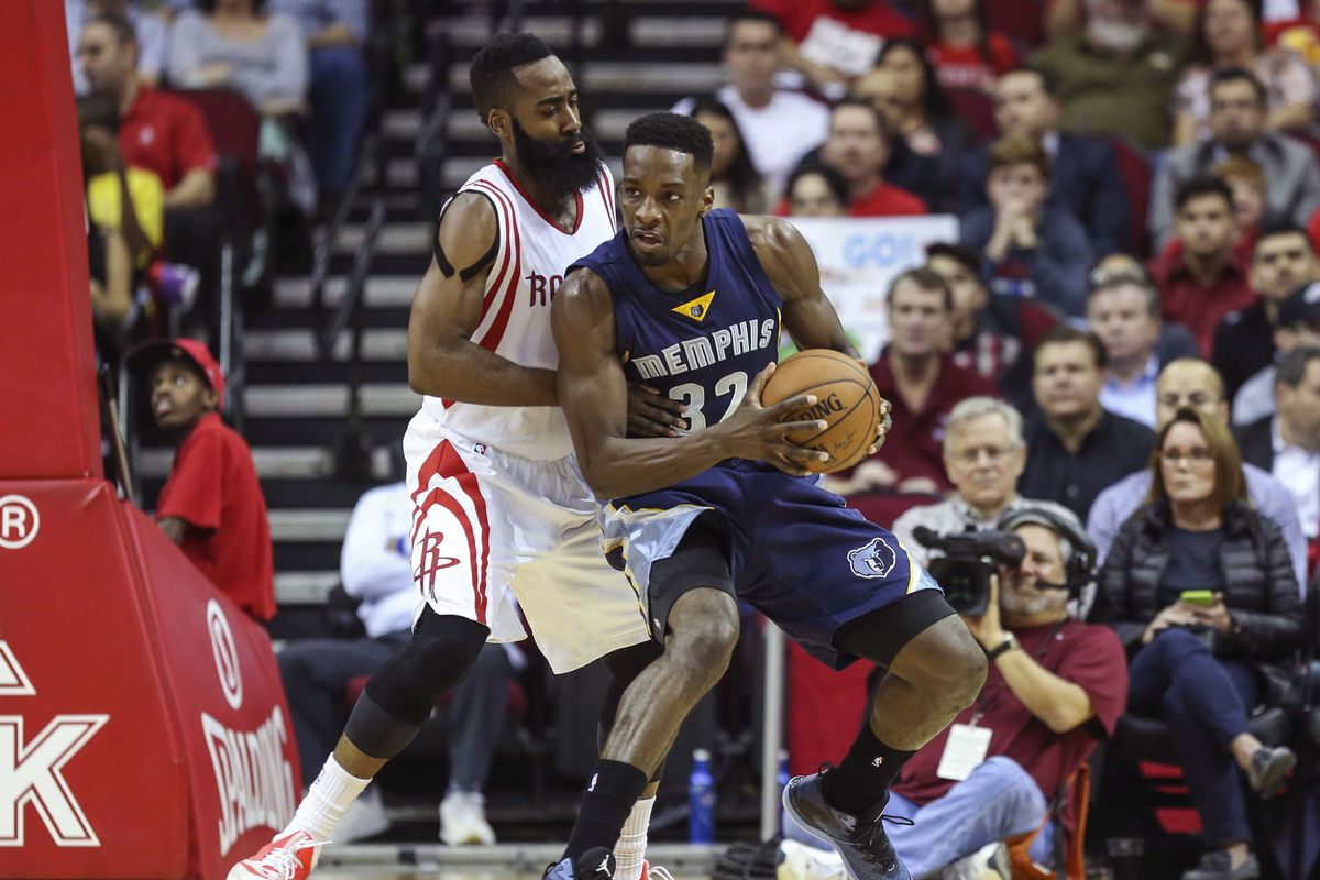 Jeff Green will hope to take advantage of James Harden and the Rockets.