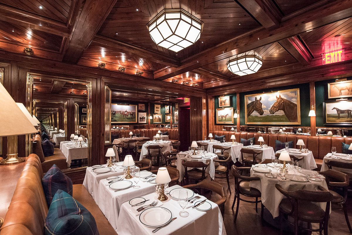 six surprising facts about ralph lauren 39 s new restaurant polo bar eater ny. Black Bedroom Furniture Sets. Home Design Ideas