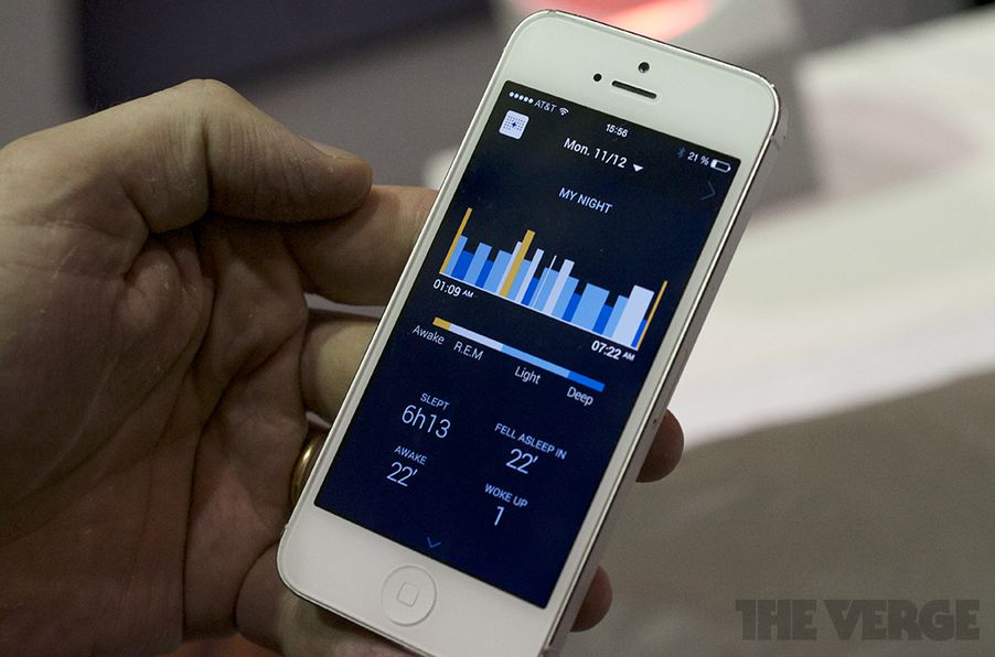 Withings Aura Uses Light Sound And Science To Help You