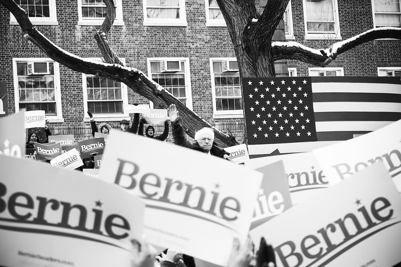 Sen. Bernie Sanders (D-VT) launched his presidential campaign in Brooklyn, New York, on March 2, 2019.