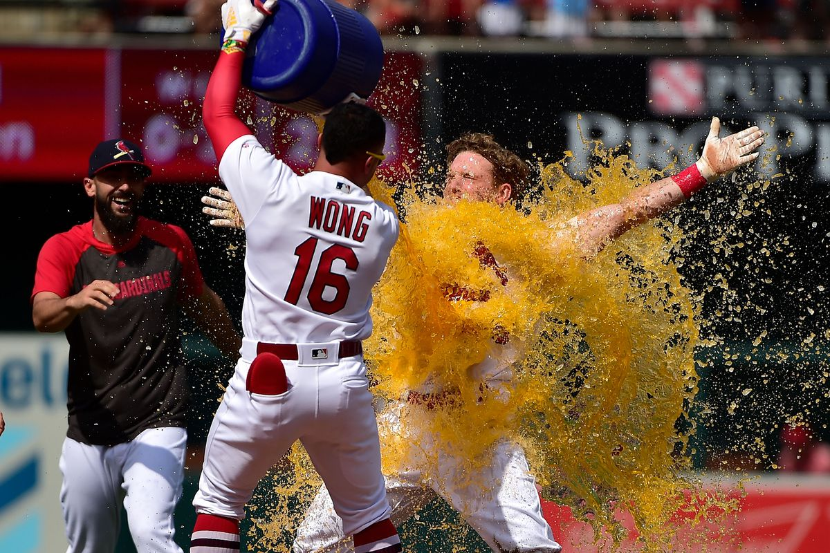 MLB: Game One-Cincinnati Reds at St. Louis Cardinals
