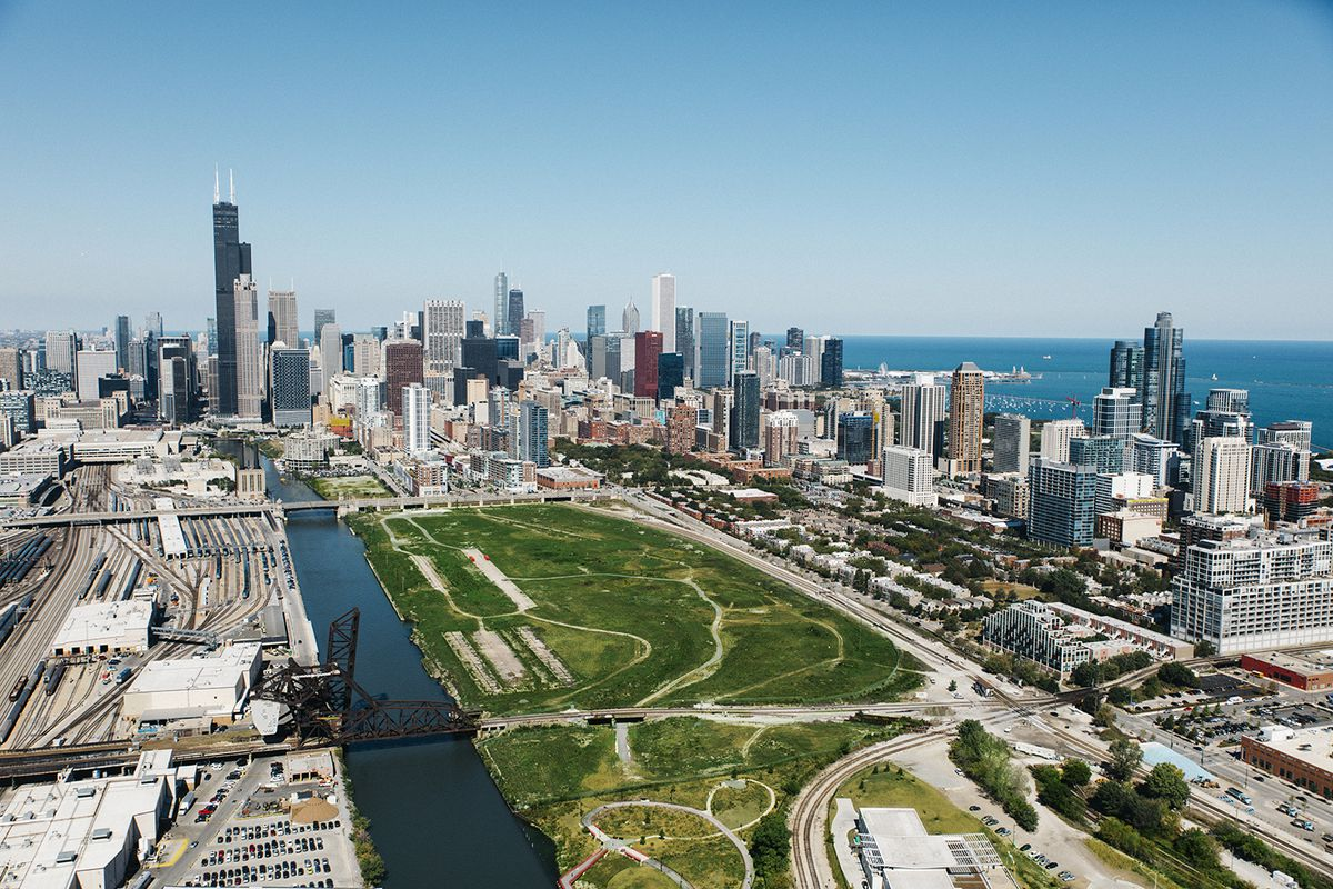 """A massive project, """"The 78,"""" planned for a 62-acre site at Roosevelt Road and Clark Street, is slated for hundreds of millions in tax-increment financing money. 