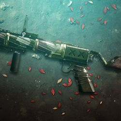 The new Pursuit grenade launcher, Salvager's Salvo