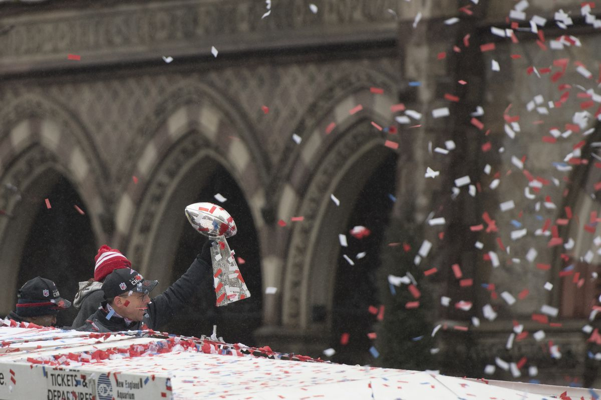 08c8b6e9 New England Patriots' Super Bowl 53 victory means another parade in ...