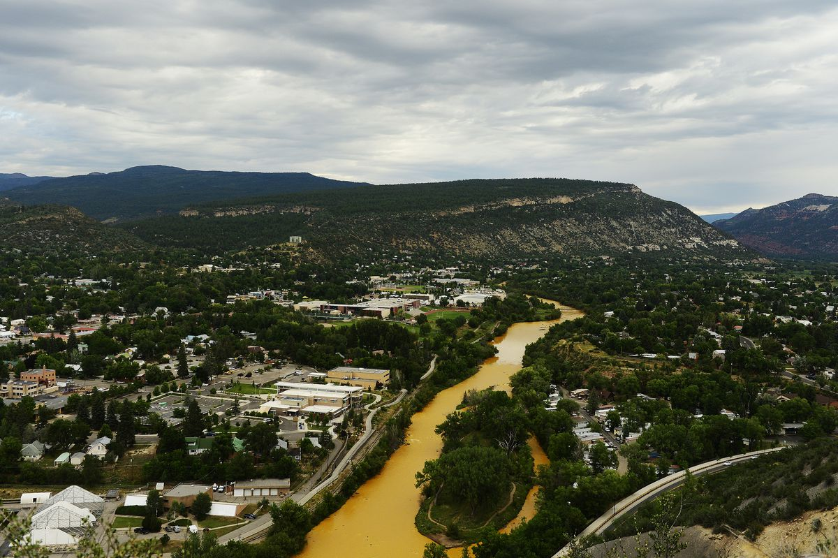 Over a million gallons of mine wastewater has made it's way into the Animas River.