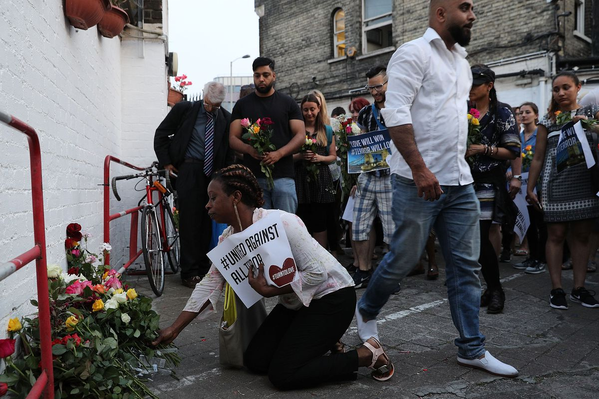 Vigil Held After One Person Killed In Terror Attack On Worshippers Leaving Ramadan Prayers